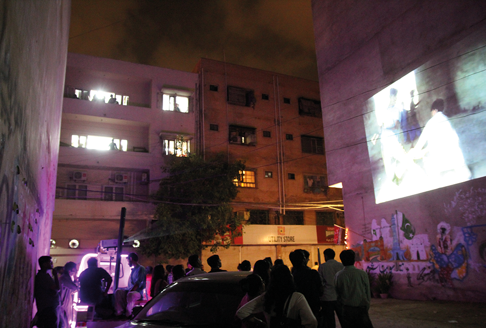 To do a comparative study, Mera Karachi Cinema engaged with the upper class residents of Defence Housing Society.